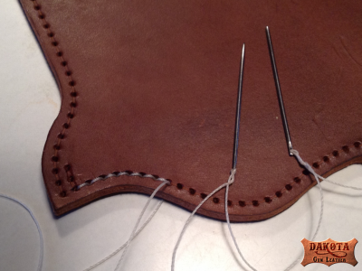 6 Stitching the holster