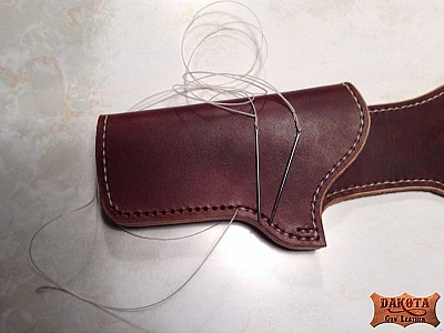 7 Stitching the holster